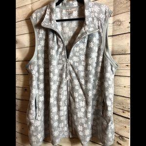 Woman Within NWOT Fleece Vest